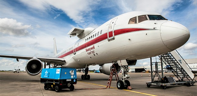The GX Aviation tour covered more than 10 locations worldwide using the Honeywell Boeing 757 test aircraft