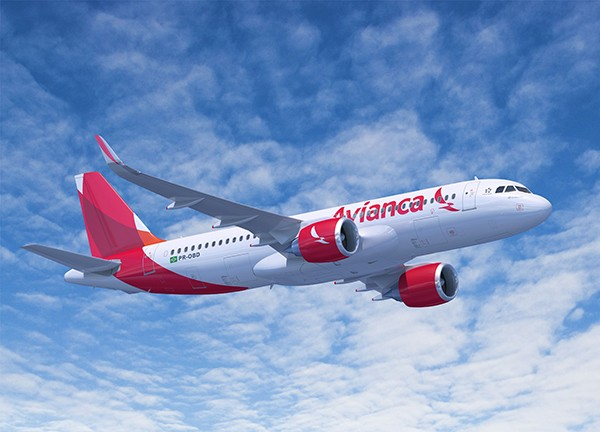 Artist's Impression of Avianca A320NEO