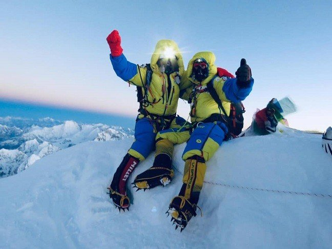 Image result for everest summit